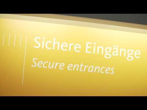 Embedded thumbnail for Автоматические раздвижные двери